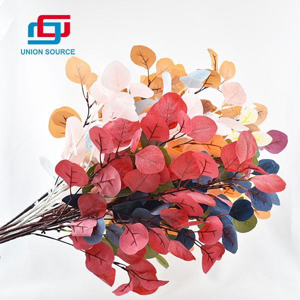 Wholesale Price Artificial Flowers Simulation Nordic Eucalyptus Twig For Decoration