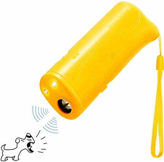 3 In 1 Anti Bark Training Ultrasonic Dog Repeller