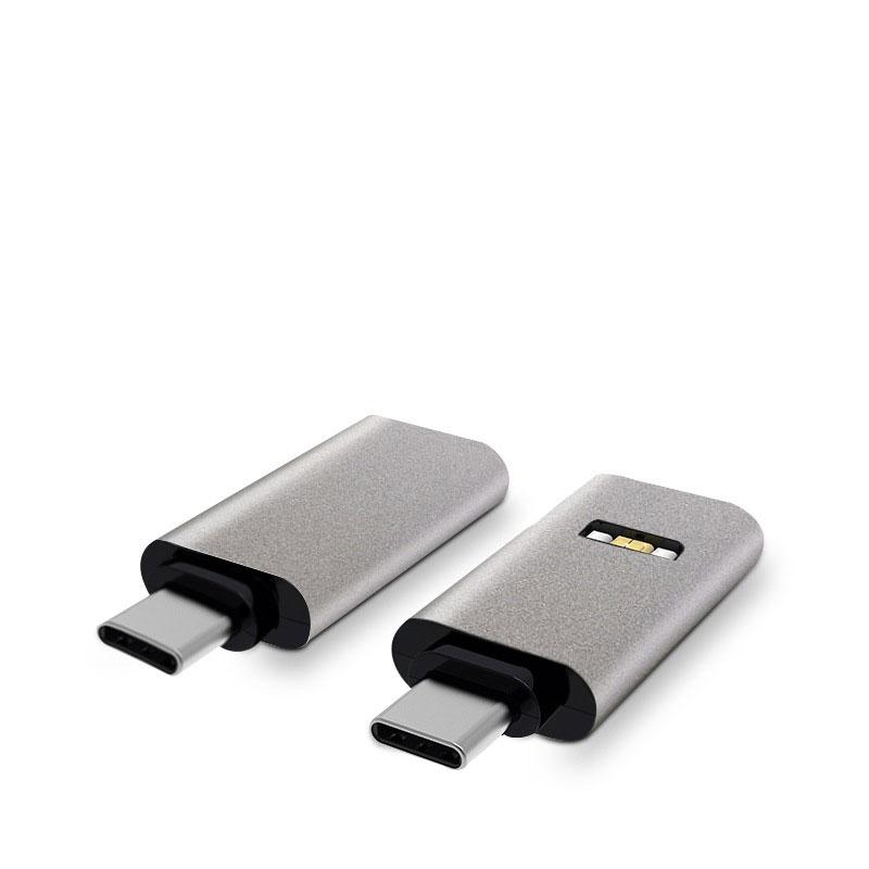 Mini adaptateur mâle micro en aluminium