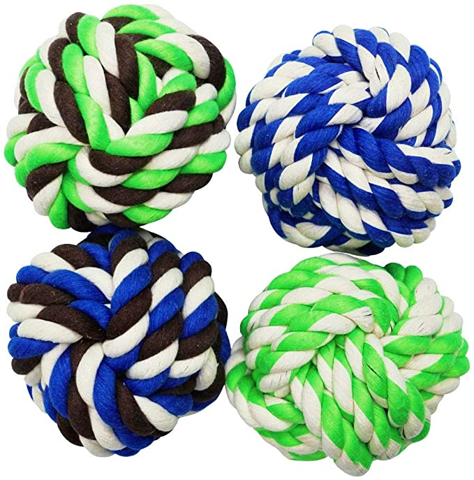 Braided Chew Cotton Dog Rope Ball