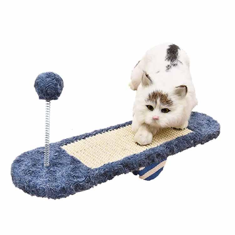 ကြာရှည်ခံနိုင်သောအိမ်မွေးတိရိစ္ဆာန်ခြစ်ရာဆိုဖာအိပ်ကြောင်ကြောင် Seesaw Toys