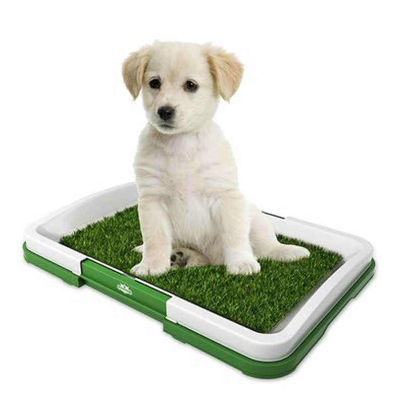 Grass Mat Indoor Pet Potty Tray