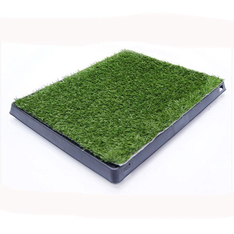 Трева преносима вътрешна тоалетна за куче