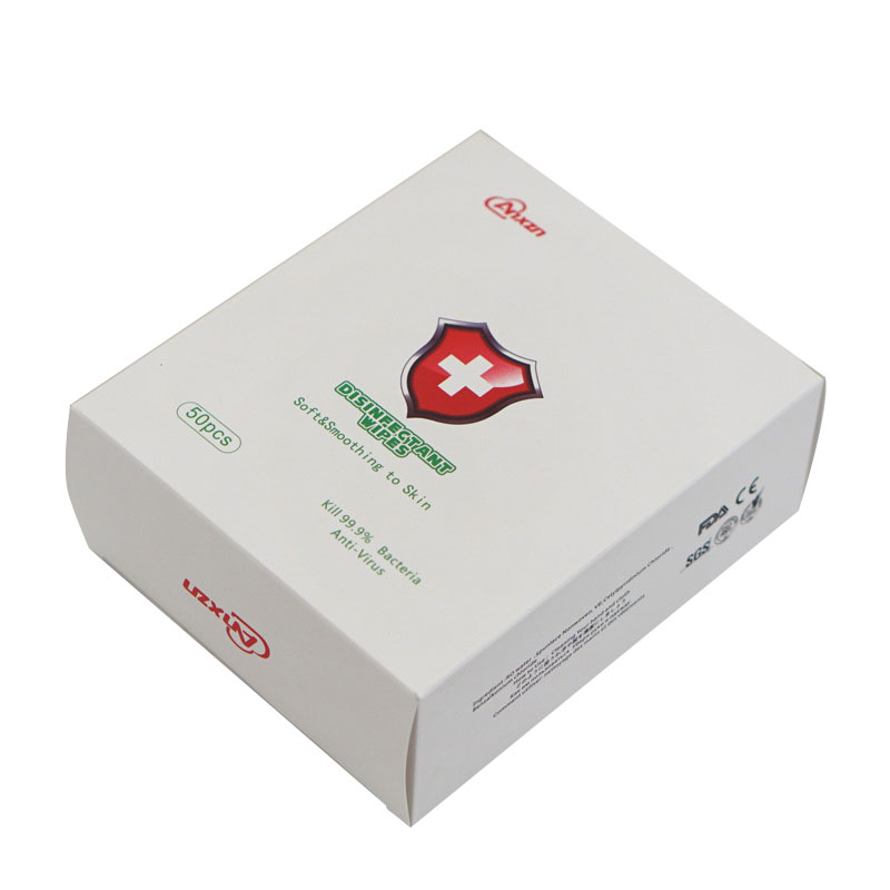 Антибактериални дезинфектантни кърпички за дезинфекция на ръце