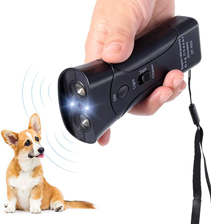 Håndholdt Ultrasonic Repellent Trainer Dog Barking Deterrent