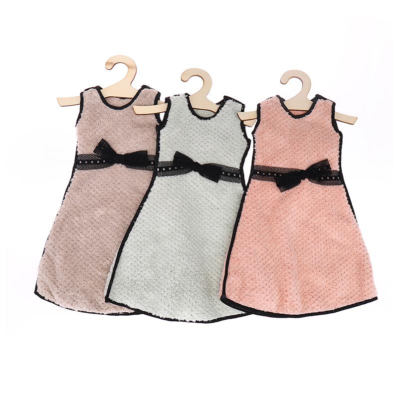 Χειροποίητη πετσέτα Lace Bow Tie Mini Skirt Style