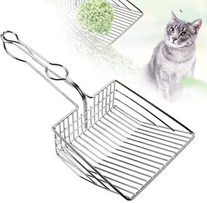 Paletta per lettiera per gatti in metallo antiaderente per urina