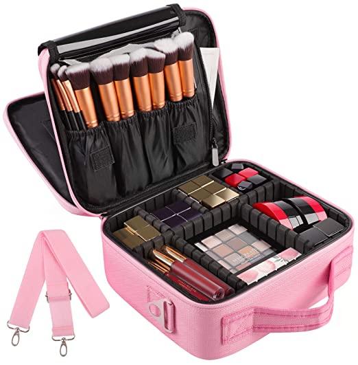 Bærbar opbevaring rejse kosmetisk taske Makeup Organizer