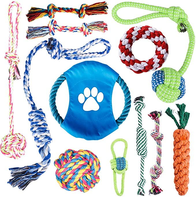 Puppy Indestructible Dog Rope Toy