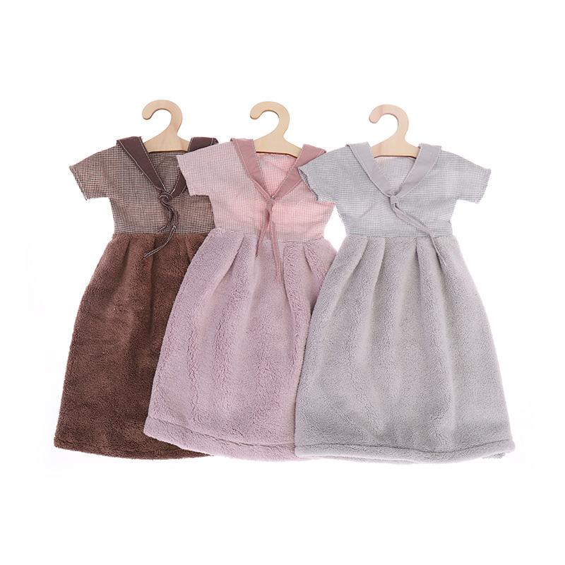 Μονόχρωμη πετσέτα μίνι φούστα