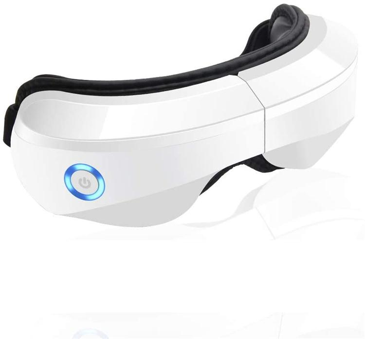 Bezprzewodowy elektryczny masażer do oczu z wibracją Bluetooth i ciepłem