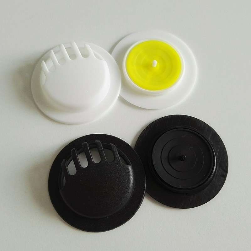 High quality plastic white black colors exhaust exhale breather N95 air valve for face dust mask