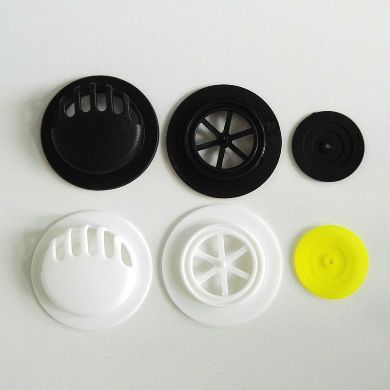 KN95 N95 material white black plastic pm25 respiratory filter exhaust exhalation one way breathing valve