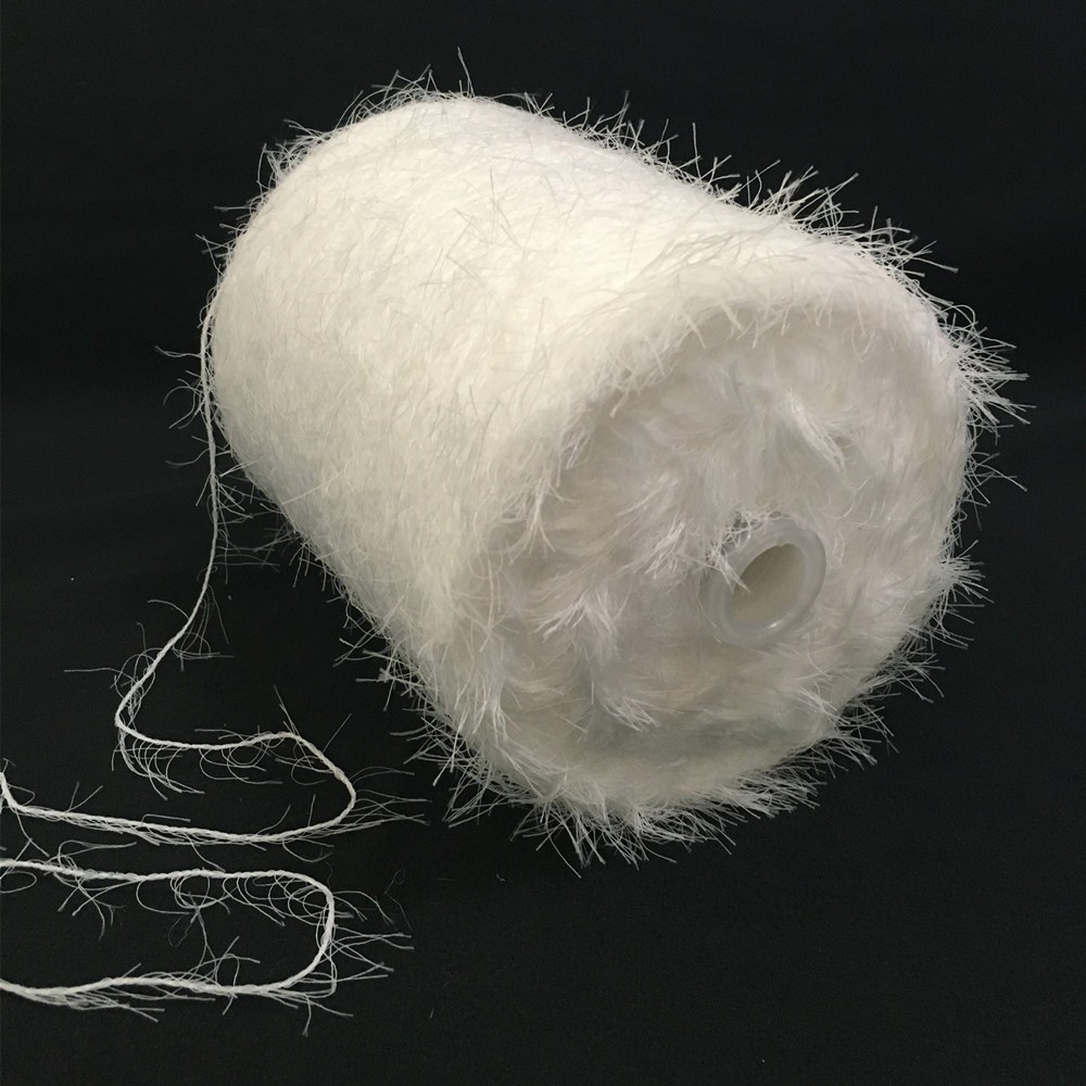 Nylon imitate mink hair yarn