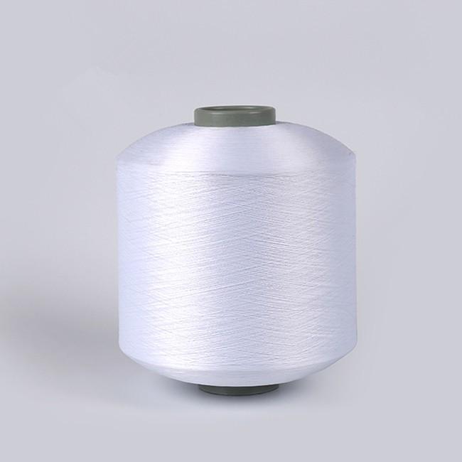 optical white polyester twist yarn