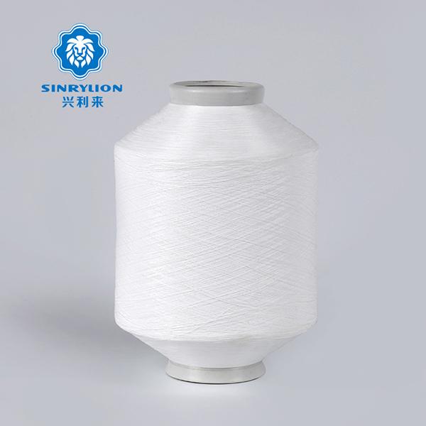 Hilo trenzado de nylon blanco crudo