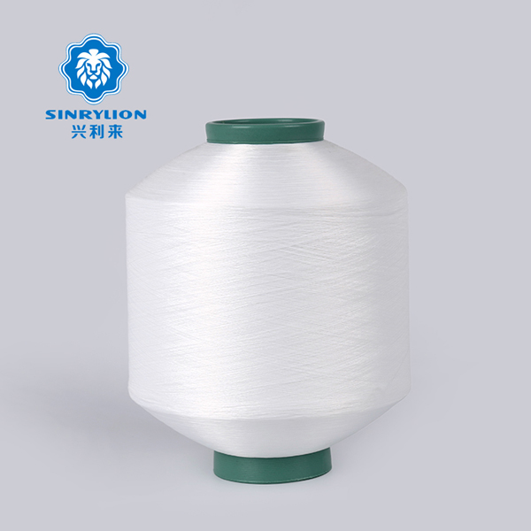 Raw White Recycled Polyester Yarn