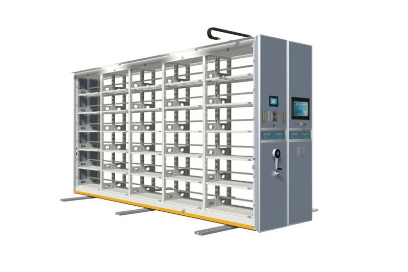 Acceptance Steps for manual compact rack