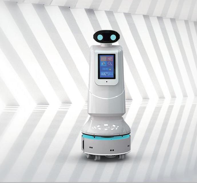 Mobile AI Robot Sterilizer