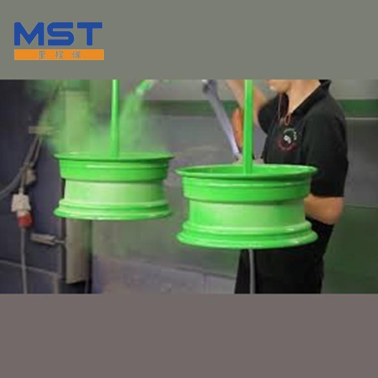 Powder coating for Motor Parts
