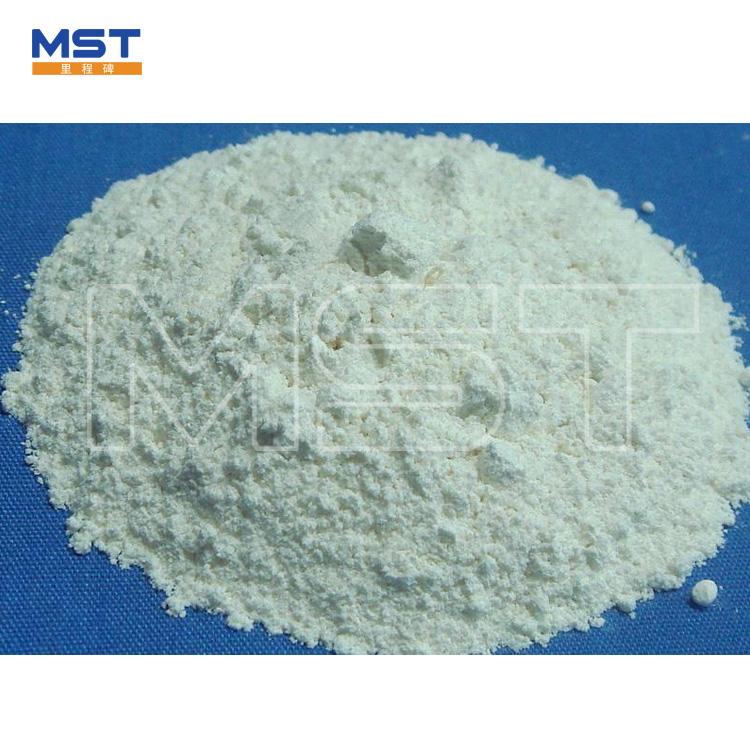 Zinc oxide powder for rubber