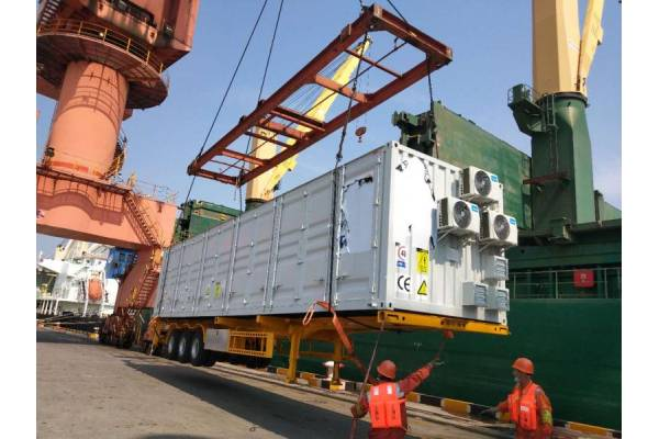 Two mobile transformers successfully delivered to Albania