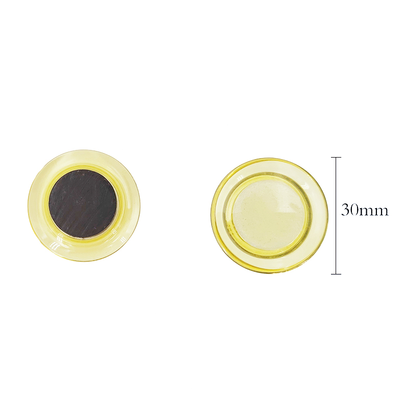 30mm Round Transparent Magnet