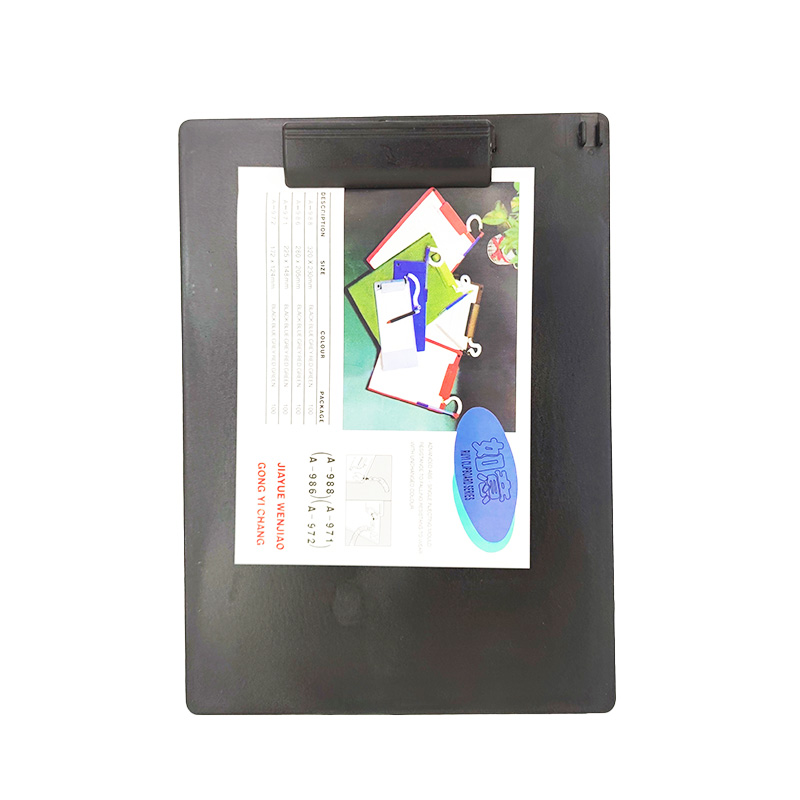 Clipboard Plastik ABS Warna Solid