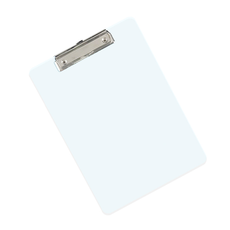 AS Clear Plastic Clipboard