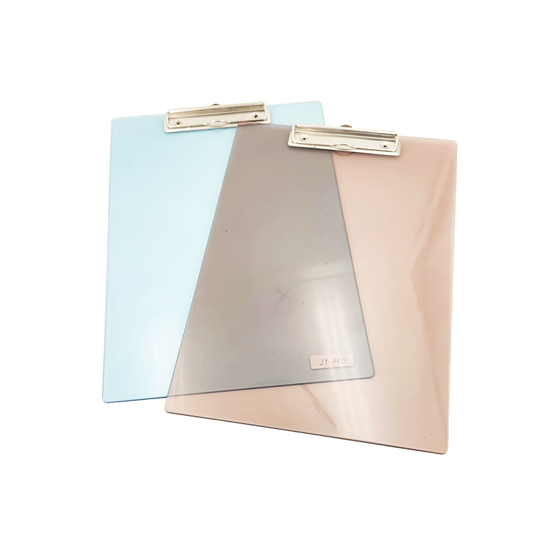 Clear A4 Plastic Clipboard