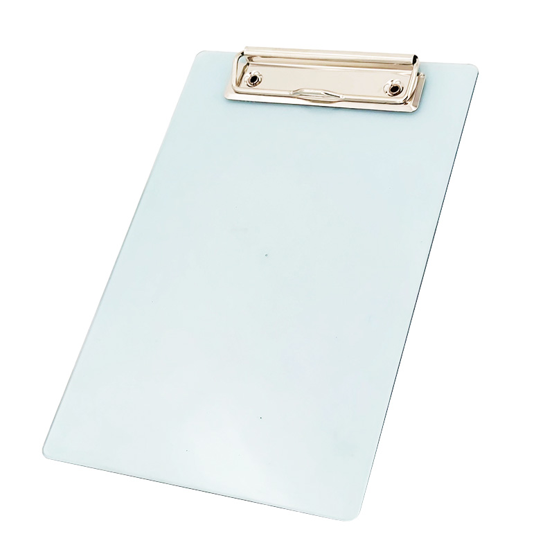 Clear A5 Plastic Clipboard