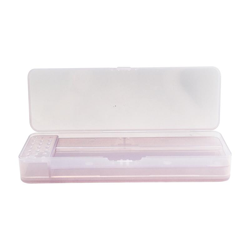 Dvostranski plastični kovček za peresa