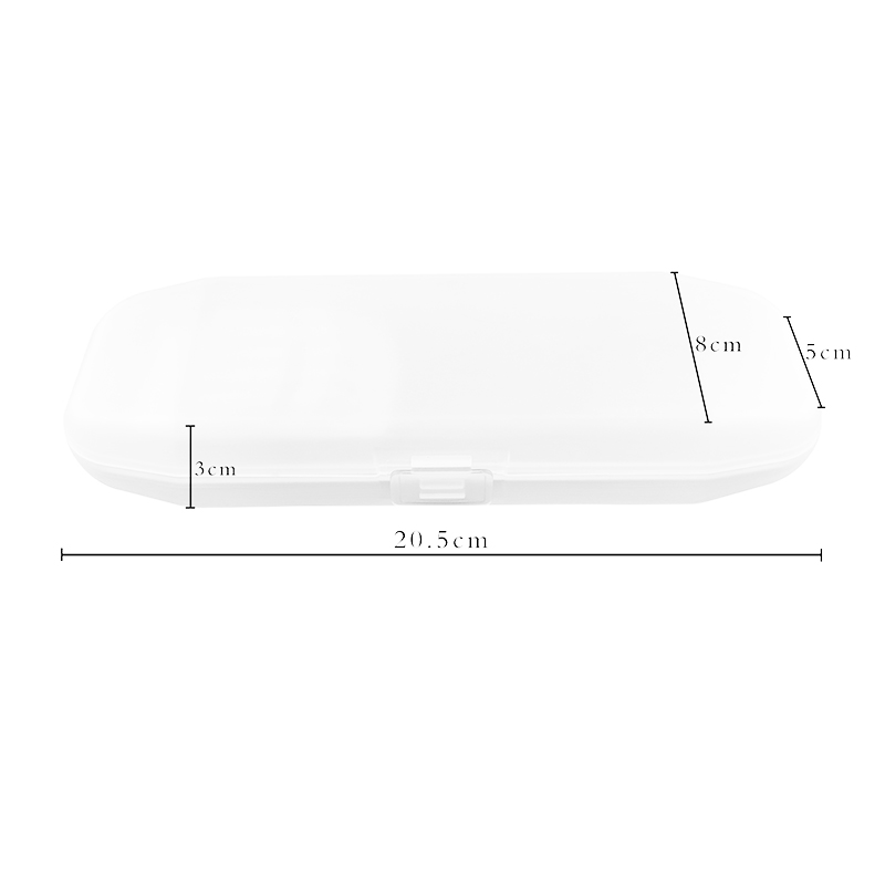 Transparent PP Pen Case