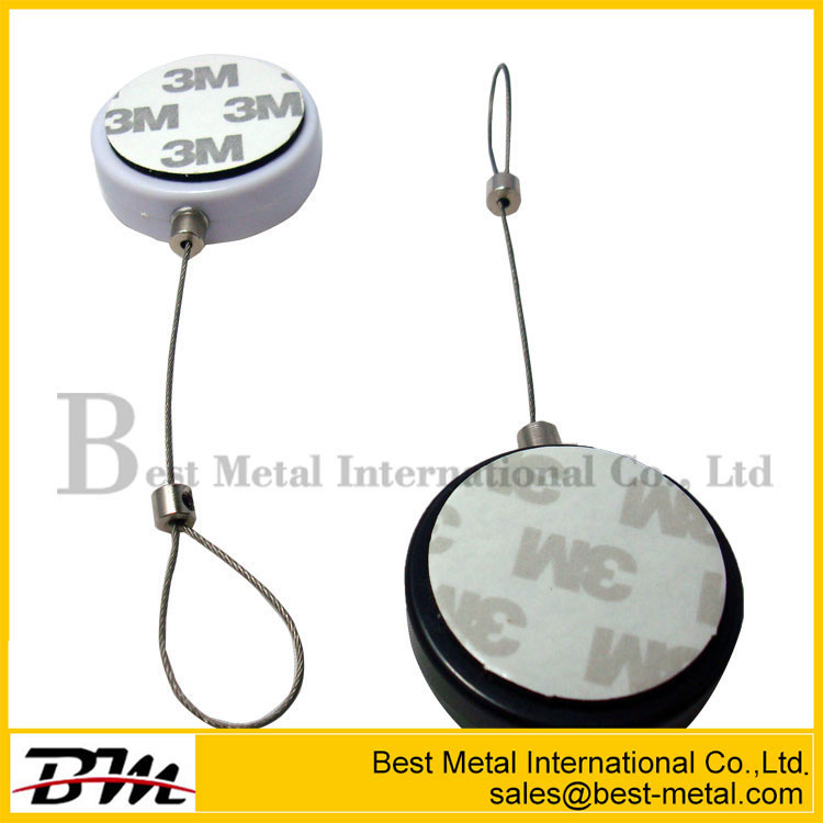 Anti Shoplifting Round Recoiler With Round Disk End