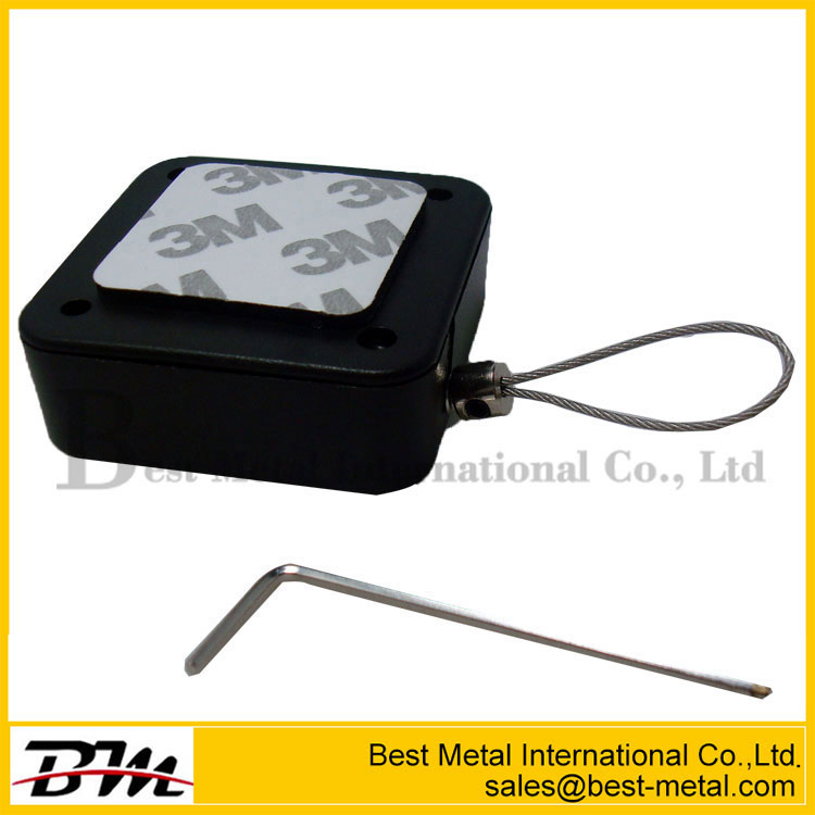 Anti-Theft Recoiler Pull Box With Trough Metal Belt