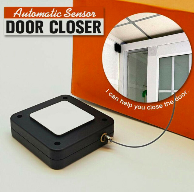 Punch-free Automatic Door Closer Multifunctional