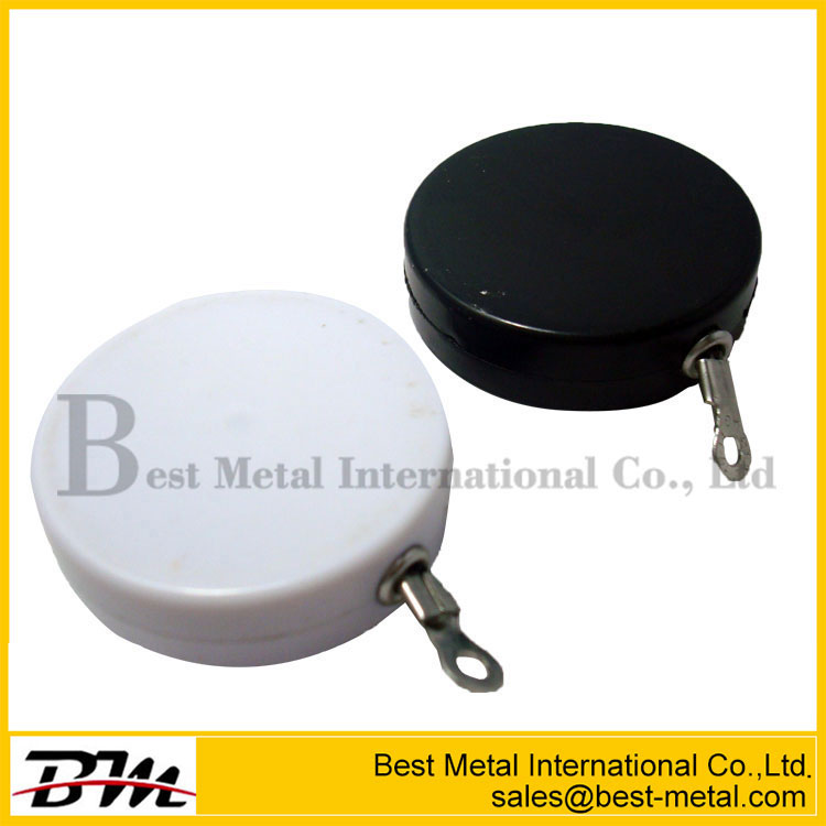 Jewelry ABS Black Round Anti Theft Pull Box