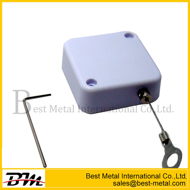 Merchandise Security Tether Auto Rewinding Cord Pull Box
