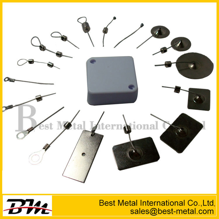 Mini Square Anti-Theft Pull Box With Cable Stop Function