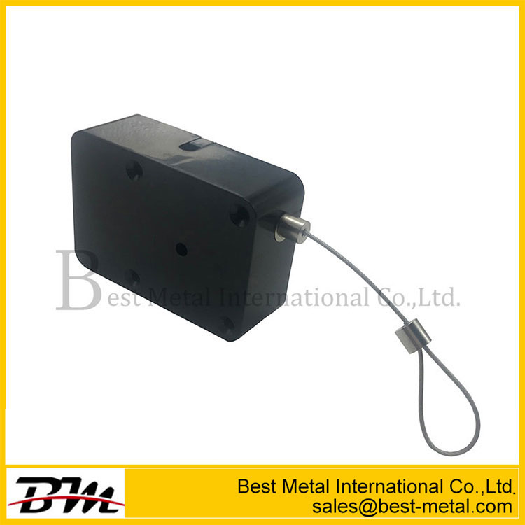 Retractable Anti-Theft Pull Box With Extension Security Wire With 3M Sticker