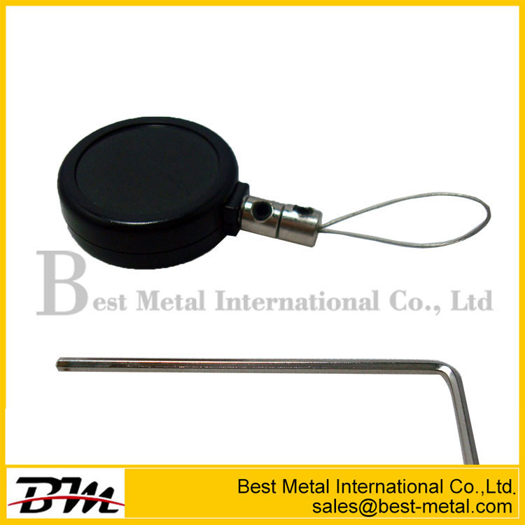 Round Anti-Theft Display Retractors With Loop Cable End