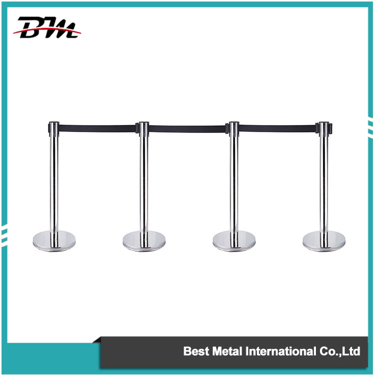 Is the Outdoor Queue Stanchion easy to shift?