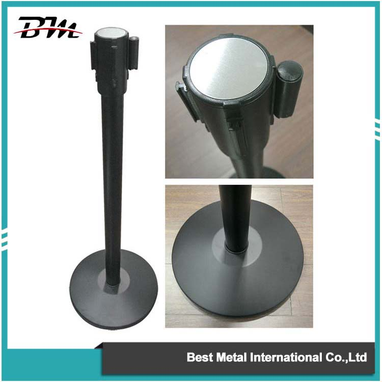 Black Crowd Control Stanchion