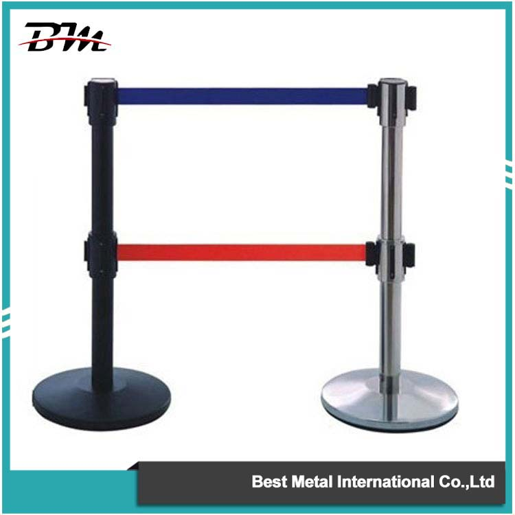 Black Double Belt Barrier