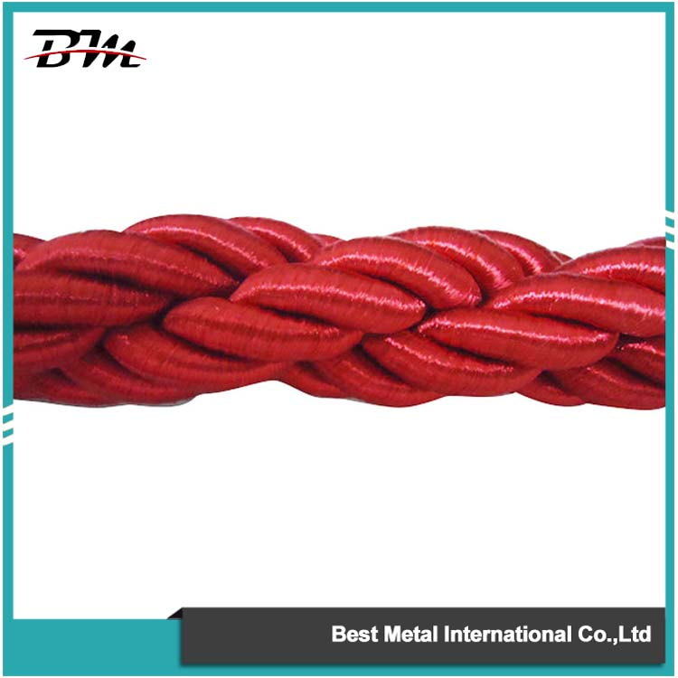 Red Braid Twisted Ropes