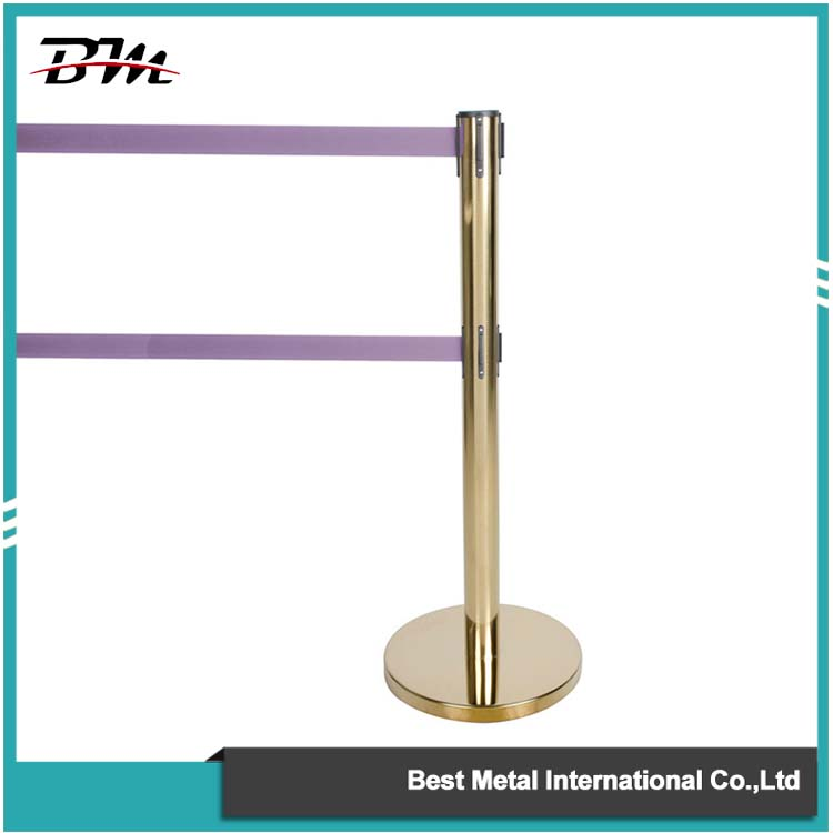 Brass Double Belt Barrier