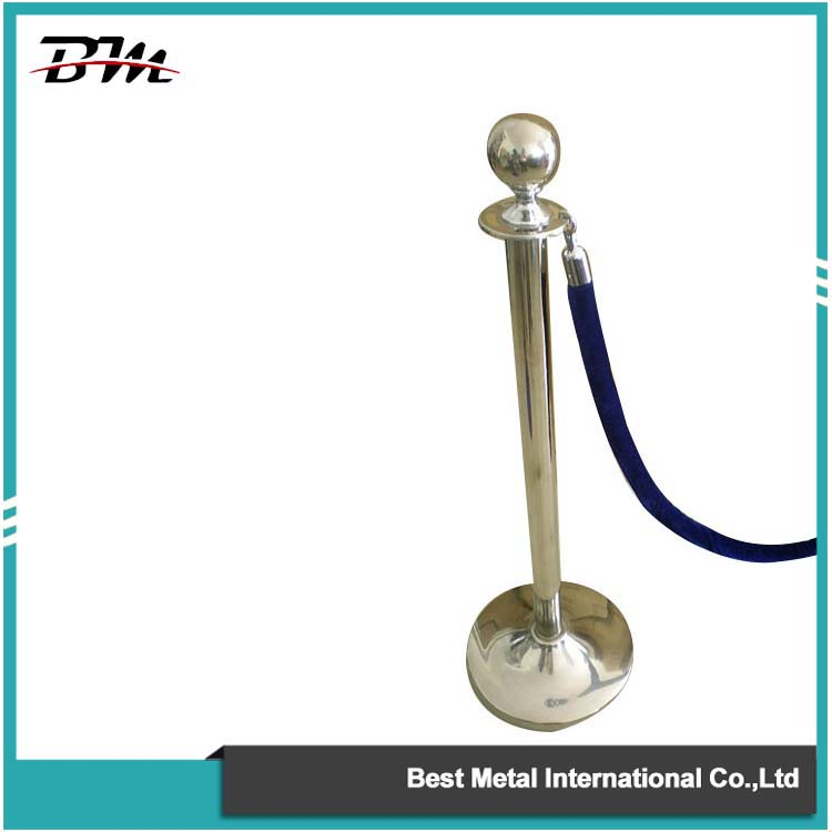 Chrome Rope Stanchion