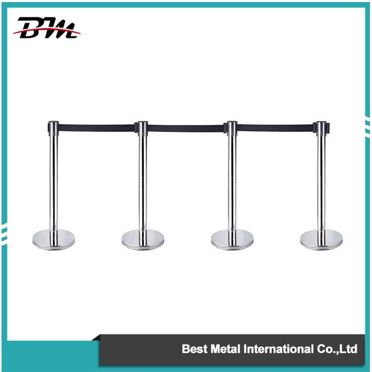 Colorful Crowd Control Stanchion