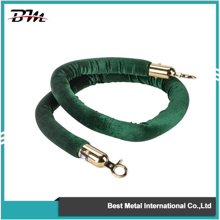 Green velvet Ropes