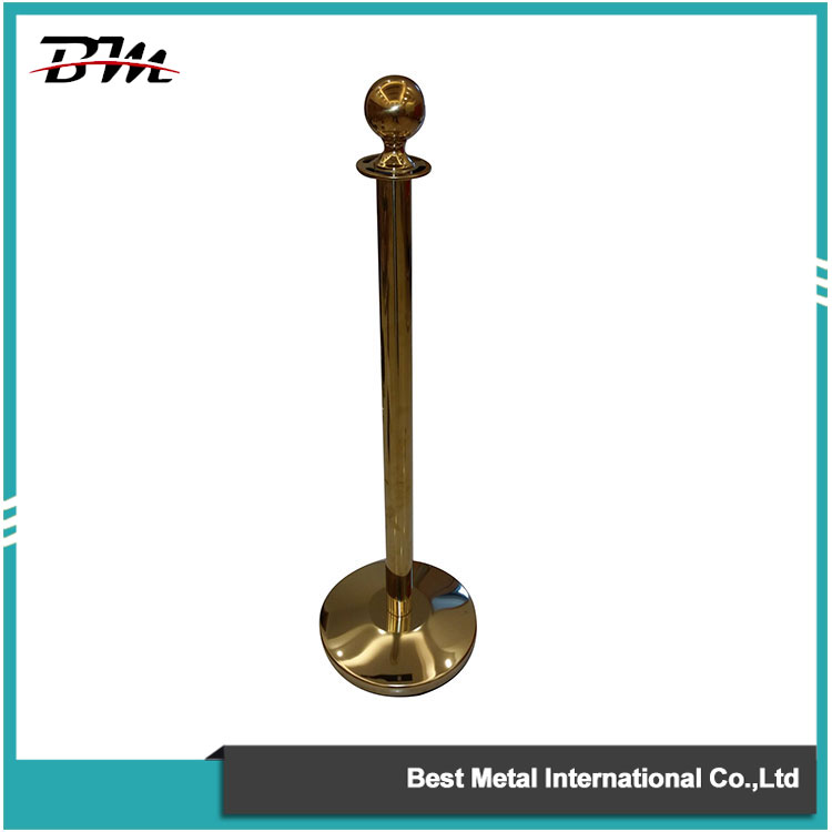 Golden Rope Stanchion